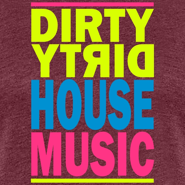 House Music Girlie weiß
