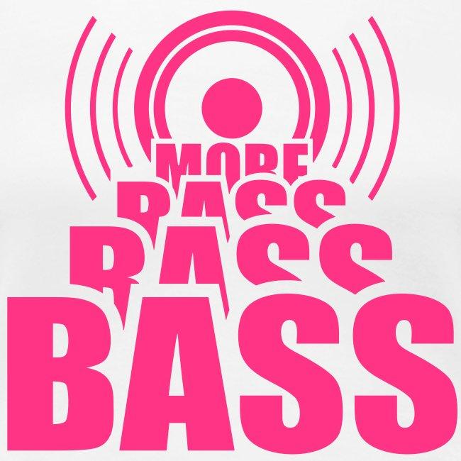 Bass Girlie schwarz/pink
