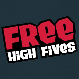 Free High Fives T-shirts - Mannen T-shirt