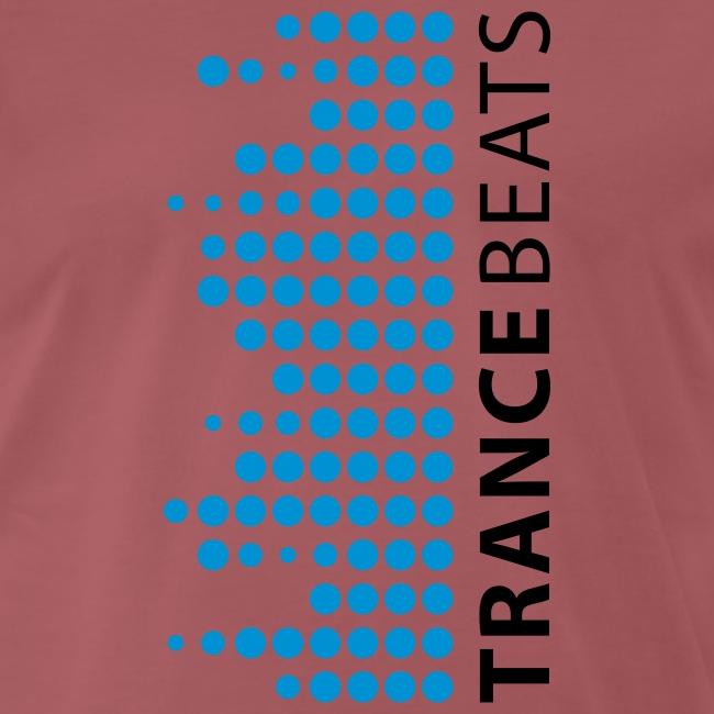 Trance Beats T-Shirt weiß