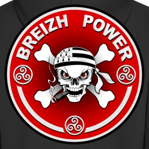breizh power 15 Sweat-shirts - Veste à capuche Premium Homme
