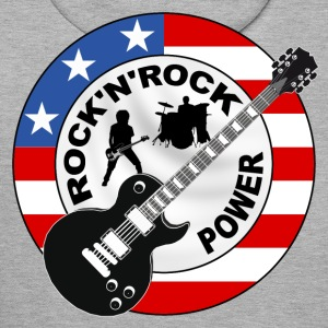 Rock 'n' Roll power Sweat-shirts - Sweat-shirt à capuche Premium pour hommes