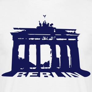 Brandenburger Tor, Berlin  T-shirts - Herre-T-shirt