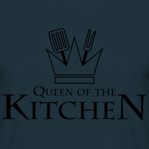 Queen Of The Kitchen T-shirts - T-shirt herr