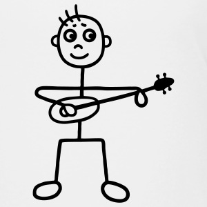 Man with Guitar - Ukulele Shirts - Kids' Premium T-Shirt