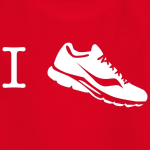 i love run sneaker Shirts - Kids' T-Shirt