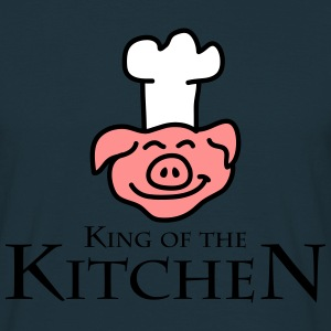 King Of The Kitchen T-skjorter - T-skjorte for menn