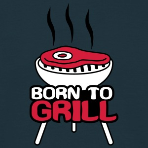 Born To Grill T-skjorter - T-skjorte for menn