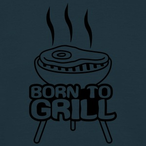 Born To Grill T-shirts - Mannen T-shirt