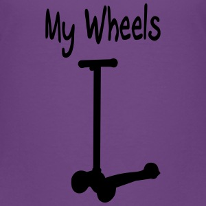 Scooter - My wheels Shirts - Kids' Premium T-Shirt