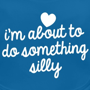 I'm about to do something silly! funny design Accessories - Baby Organic Bib