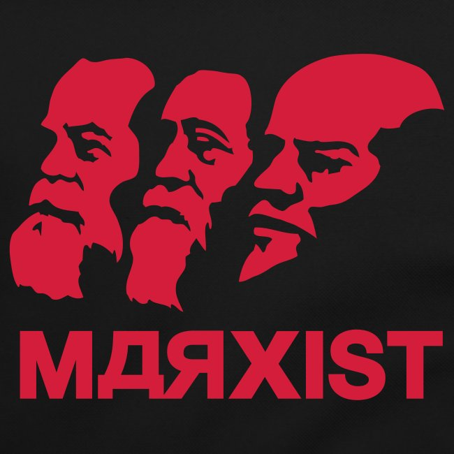 Marx Engels & Lenin Marxist Shoulder Bag