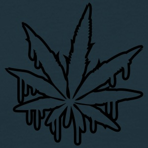 Weed Graffiti Design T-shirts - Herre-T-shirt