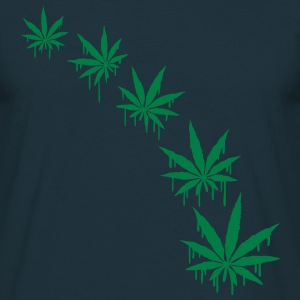 Weed Graffiti Style Tee shirts - T-shirt Homme