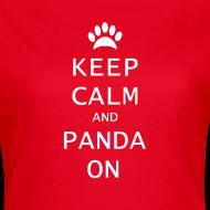 Ontwerp ~ Panda On Vrouwen T-Shirt