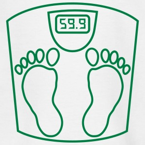weighing _scales_ person_2_b1 Shirts - Kids' T-Shirt