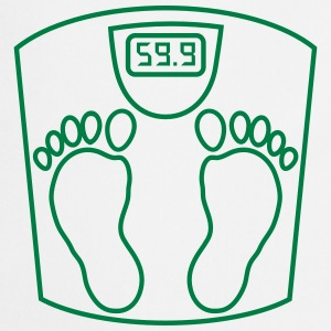weighing _scales_ person_2_b1  Aprons - Cooking Apron