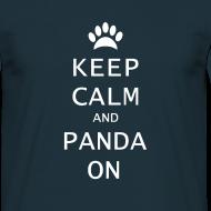 Ontwerp ~ Panda On Mannen T-Shirt