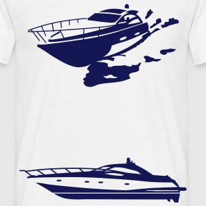Yacht Tee shirts - T-shirt Homme