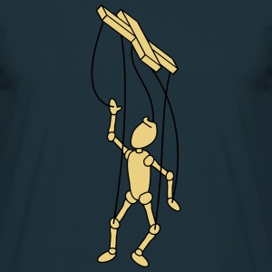 Marionette Puppet T-shirts - Herre-T-shirt