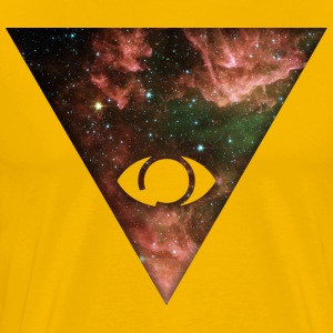 Cosmic Pyramid T-Shirts - Men's Premium T-Shirt
