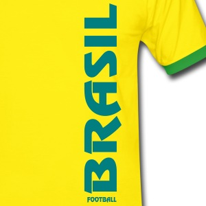brasil Tee shirts - T-shirt contraste Homme