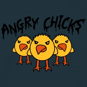 Angry Chicks T-shirts - Mannen T-shirt