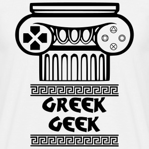 Greek Geek Tee shirts - T-shirt Homme