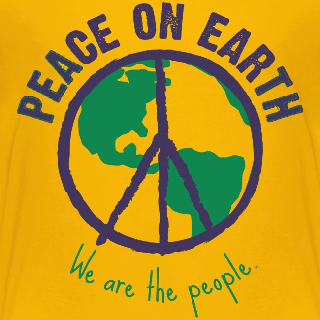 People's Earth - Teenager T-Shirt Unisex