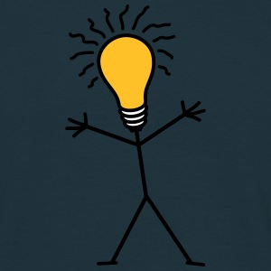 Light Bulb Man Tee shirts - T-shirt Homme
