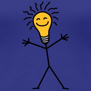 Light Bulb T-shirts - Vrouwen Premium T-shirt