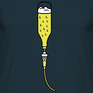 Intravenous Beer T-shirts - T-shirt herr