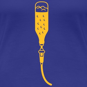 Intravenous Beer T-Shirts - Frauen Premium T-Shirt