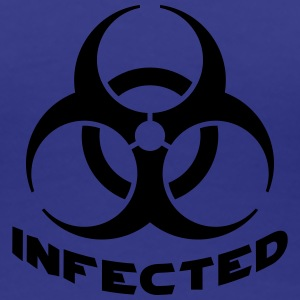 Infected Biohazard T-shirts - Dame premium T-shirt