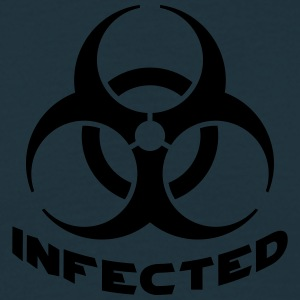 Infected Biohazard T-shirts - Mannen T-shirt