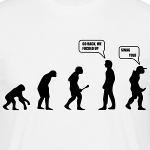 Swag Yolo Evolution T-shirts - T-shirt herr