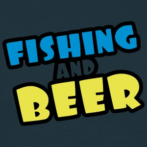 Fishing And Beer T-shirts - Herre-T-shirt