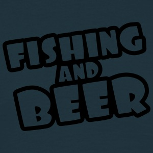 Fishing And Beer T-Shirts - Männer T-Shirt