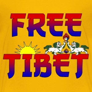 Tibet Free Shirts - Teenage Premium T-Shirt