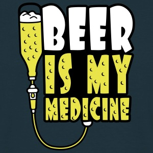 Beer Is My Medicine T-shirts - Mannen T-shirt