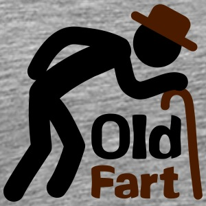 Old Fart T-shirts - Herre premium T-shirt