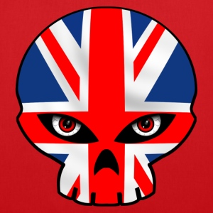 union jack skull 2 Sacs - Tote Bag