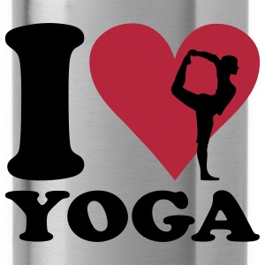 I Love Yoga - Water Bottle