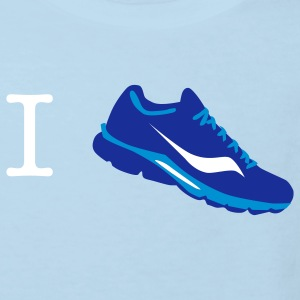 i love run sneaker T-Shirts - Kinder Bio-T-Shirt