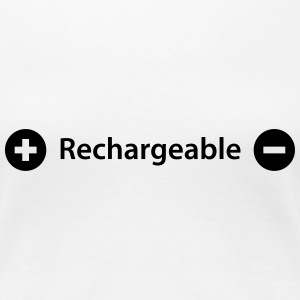 rechargeable Tee shirts - T-shirt Premium Femme