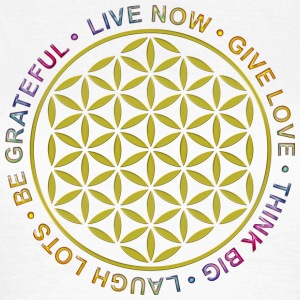Flower of Life - Rules of Life - Frauen T-Shirt
