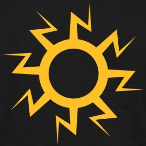 lightning sun tattoo - Men's T-Shirt