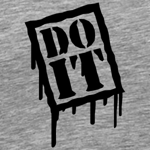 Do It T-shirts - Herre premium T-shirt