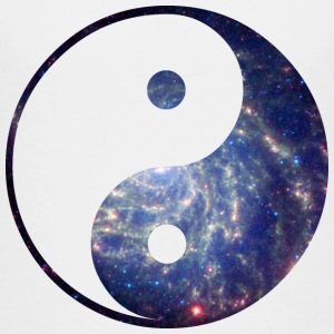 Cosmic Yin Yang Shirts - Teenage Premium T-Shirt