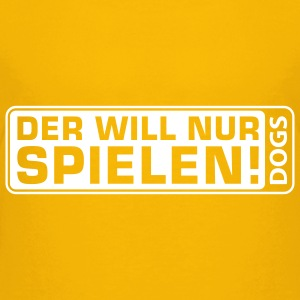 Martin Rütter - Der will nur spielen - Teenagersh - Teenager Premium T-Shirt